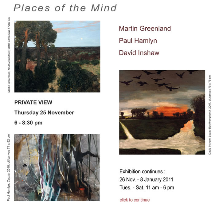 Places of the Mind Exhibition